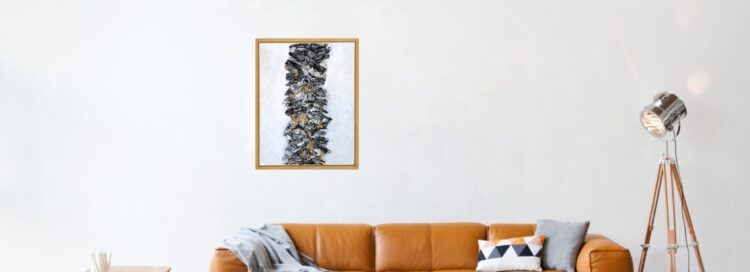 "Schilderij ""Palm beach"""