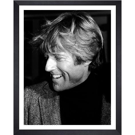 """Ingelijste poster """"Robert Redford"""" van Mondiart"""