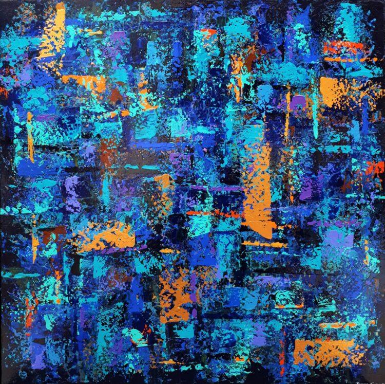 "Schilderij ""CEDRIC-07"""