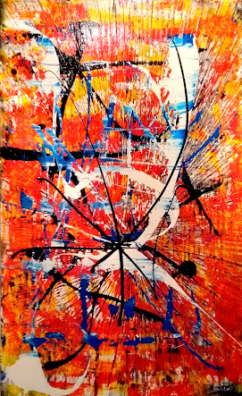"Schilderij ""Awakening"""