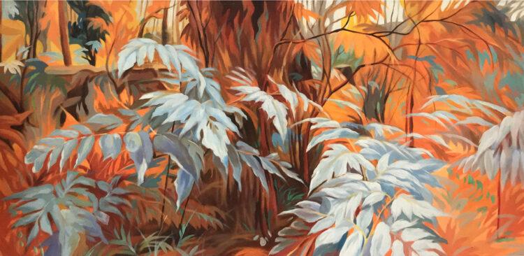"""Schilderij """"Deep Forest I"""""""