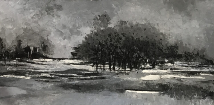 """Schilderij """"Landschap"""""""