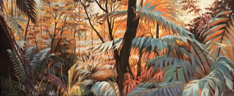 """Schilderij """"Deep Forest II"""""""