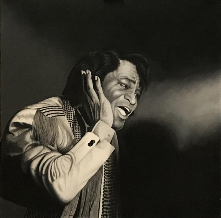 """Schilderij """"James Brown"""""""