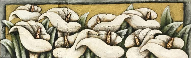 """Schilderij """"Aronskelk (Arum)"""""""
