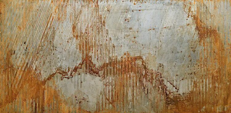 """Schilderij """"Abstract nature"""""""