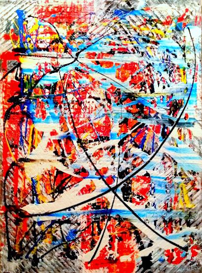 """Schilderij """"Freedom"""""""
