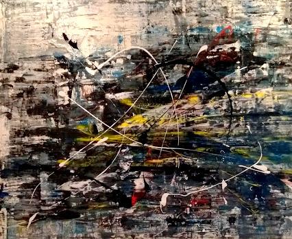 """Schilderij """"Electric"""""""