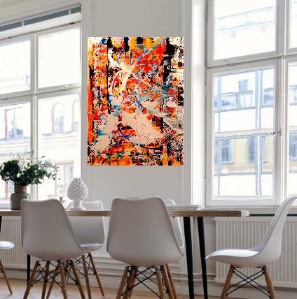 """Schilderij """"Future"""""""