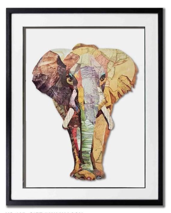 Paper art Olifant