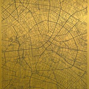 Berlin citymap gold