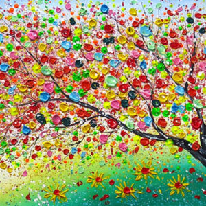 "Schilderij ""Magic nature II"""