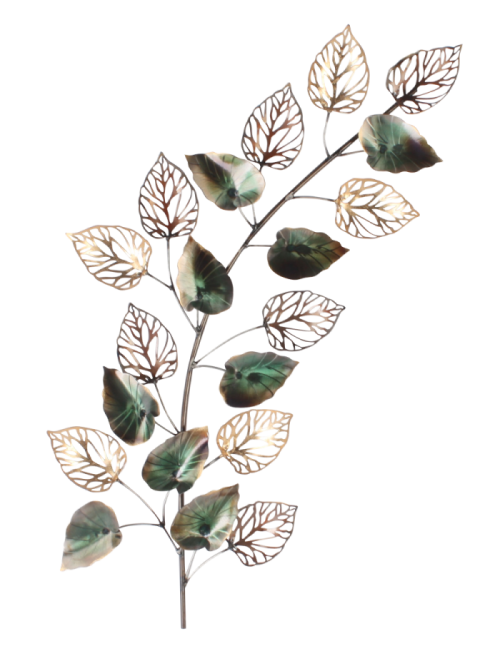 "Metalen wanddecoratie ""Autumn Leaves"""