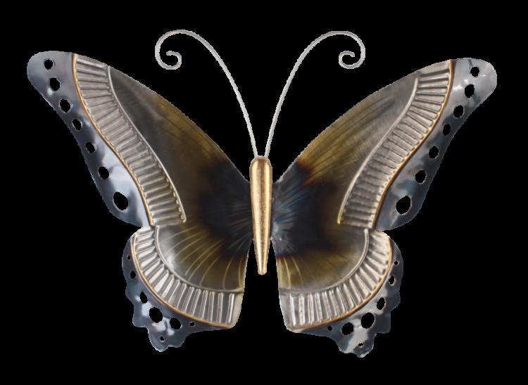 """Metalen wanddecoratie """"Mariposa"""""""