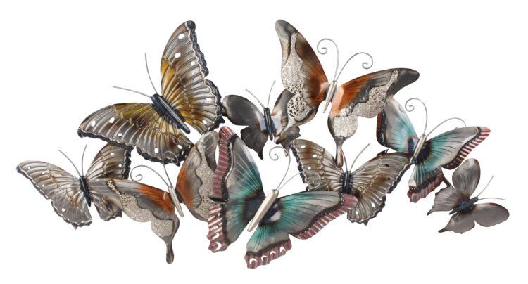 """Metalen wanddecoratie """"Kaleidoscope"""""""