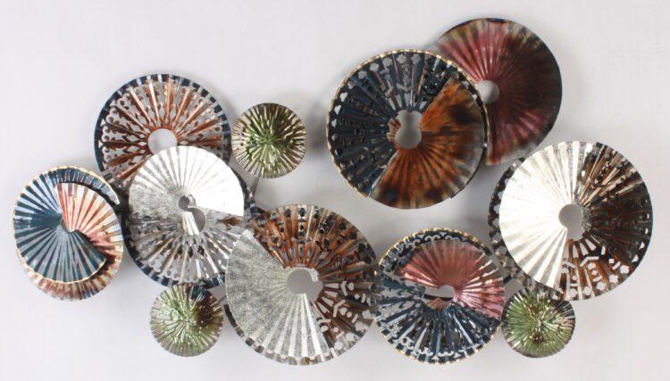 Metalen wanddecoratie Tondi