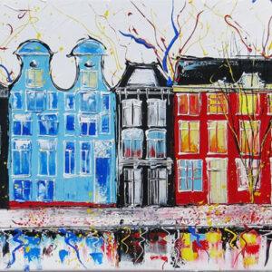 "Schilderij ""Iamsterdam"""