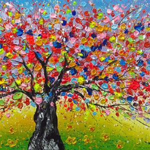 """Schilderij """"Magic nature"""""""
