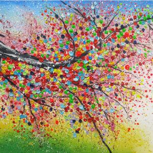 "Schilderij ""Magic tree"""