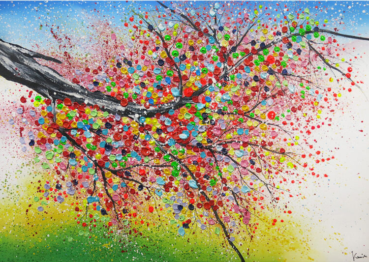 "Schilderij ""Magic tree"""