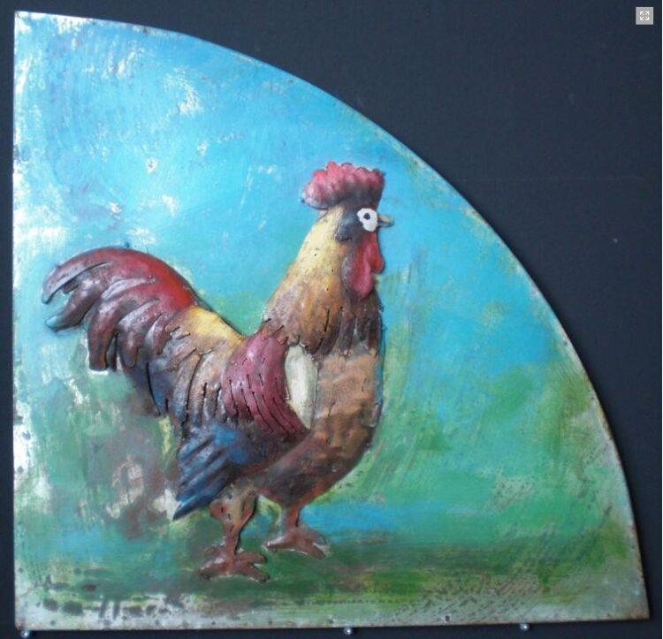 """Metalen schilderij """"Morgenstond"""""""