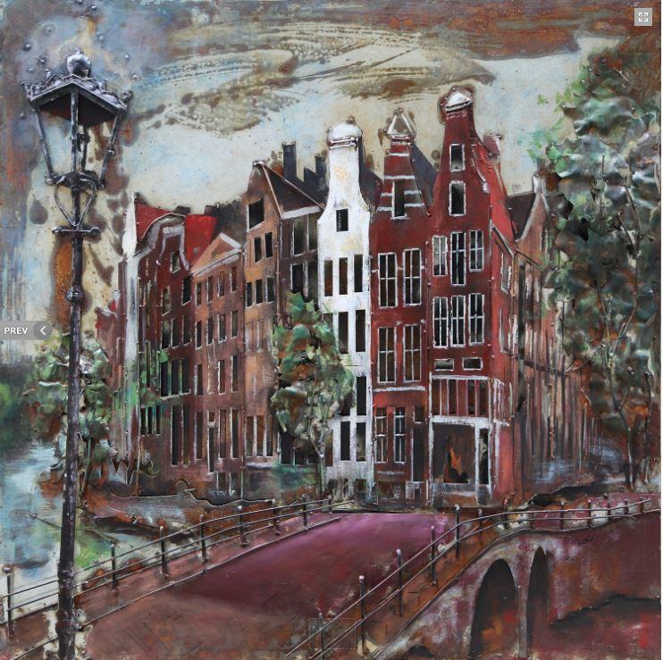 """Metalen schilderij """"Utrecht"""""""