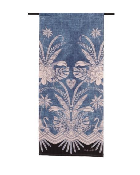 "Wandkleed ""Blue Denim"" van Urban Cotton"