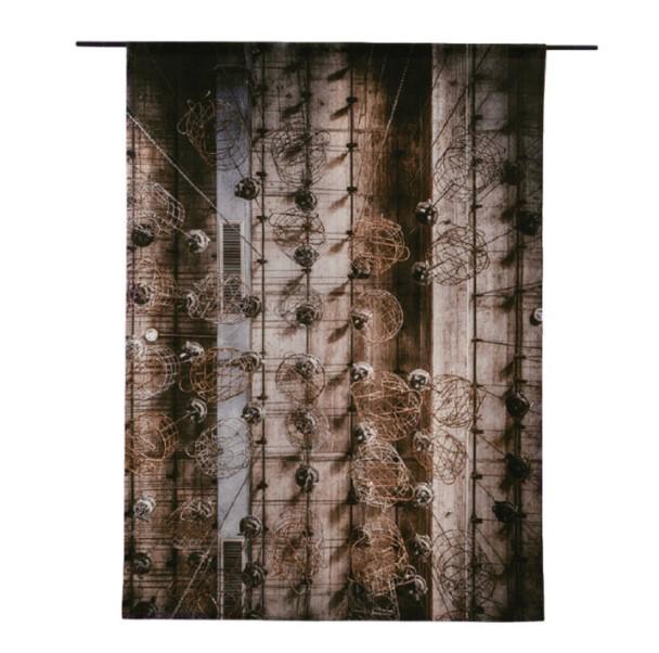 "Wandkleed ""Hanging Baskets"" van Urban Cotton"