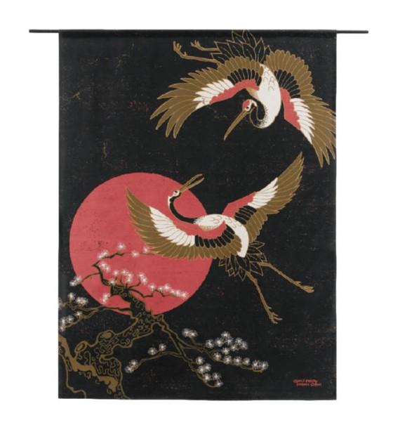 """Wandkleed """"Japanese Beauty"""" van Urban Cotton"""