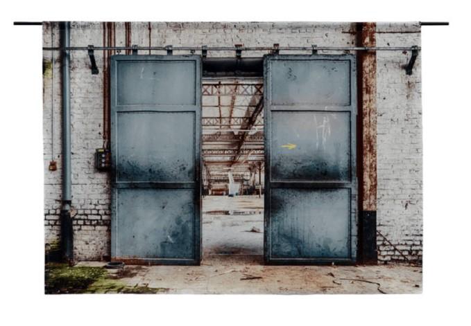 Wandkleed Spinning Doors van Urban Cotton