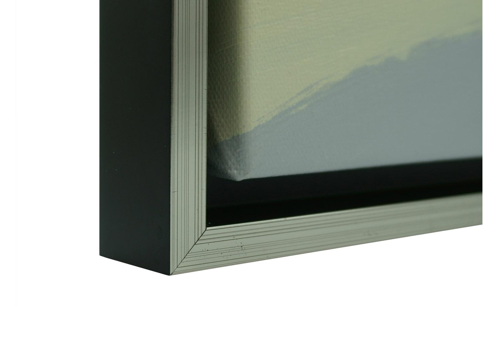 goedkope baklijst schilderij zwart zilver compo 35 mm ls