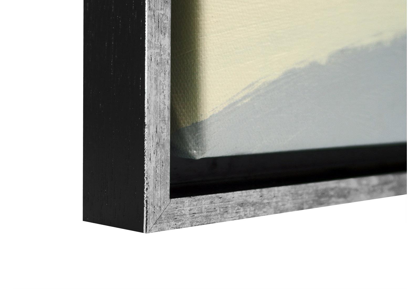 goedkope baklijst schilderij zwart zilver nerf 35 mm ls