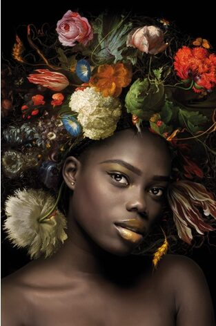 "Aluminium schilderij ""Flower Power no.2"" van MondiArt"