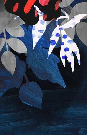 "Aluminium schilderij "" Summer Night Memory "" van MondiArt"