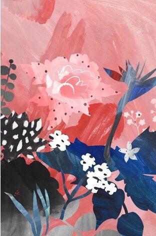 """Aluminium schilderij """" Summer Memory Pink """" van MondiArt"""