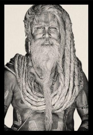 "Portrait Gobelin ""Gangadas Baba"" van Mondiart"