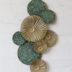 """Metalen wanddecoratie """"Coral"""""""