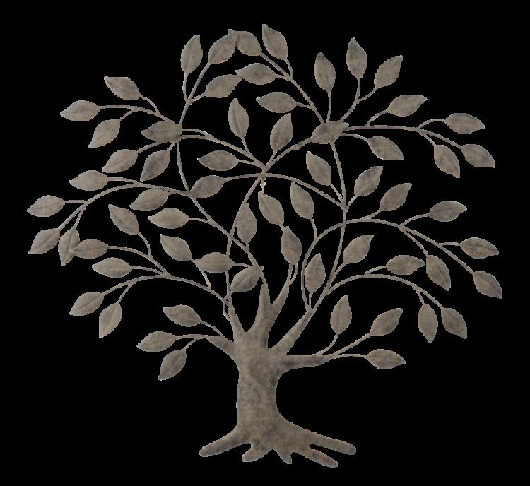 """Metalen wanddecoratie """"Tree of Life"""""""