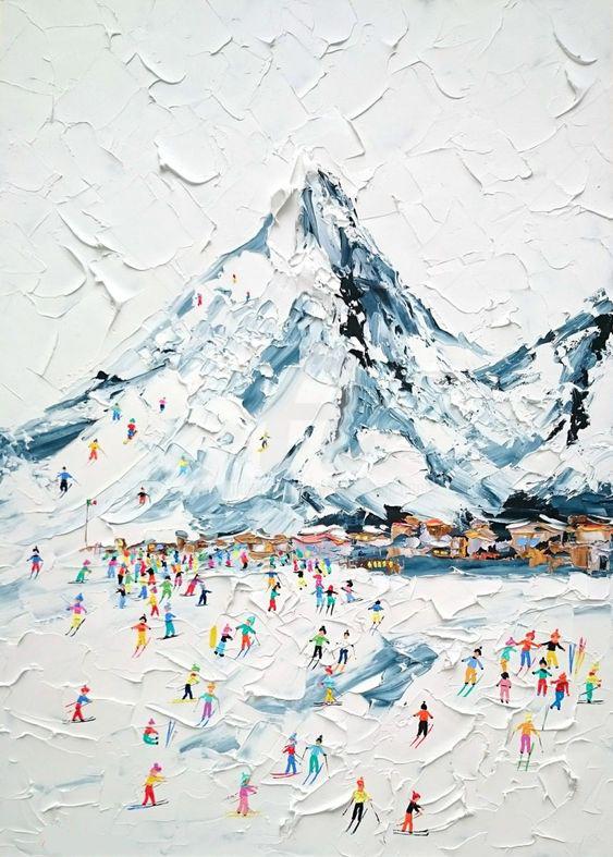 """Schilderij """"skietjes"""""""