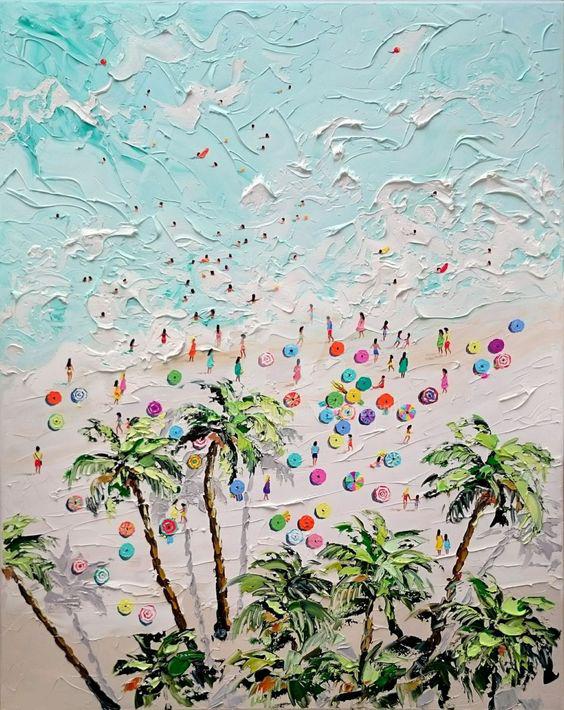 """Schilderij """"Palmlife"""""""