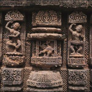 "Aluminium schilderij ""Odisha temple"" van MondiArt"