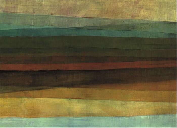 "Wandkleed "" Lines"" van Mondiart"