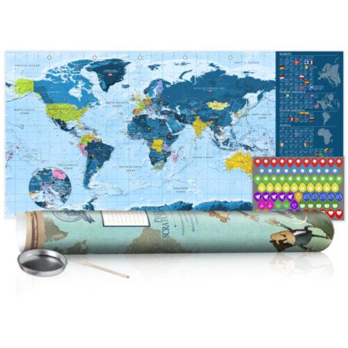 kras-wereldkaarten