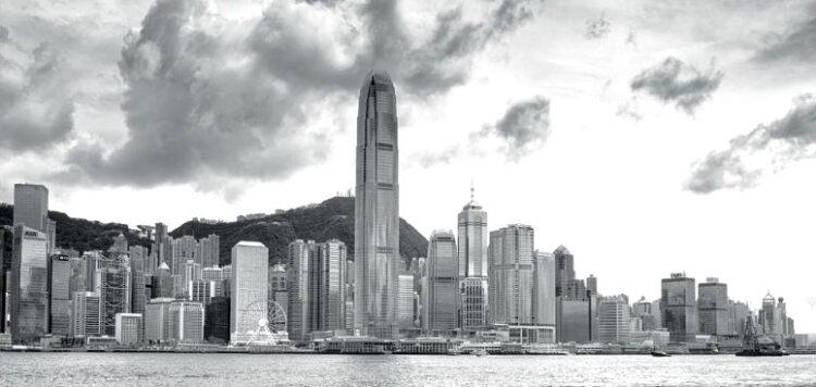 "Aluminium schilderij ""Hong Kong"" van MondiArt"