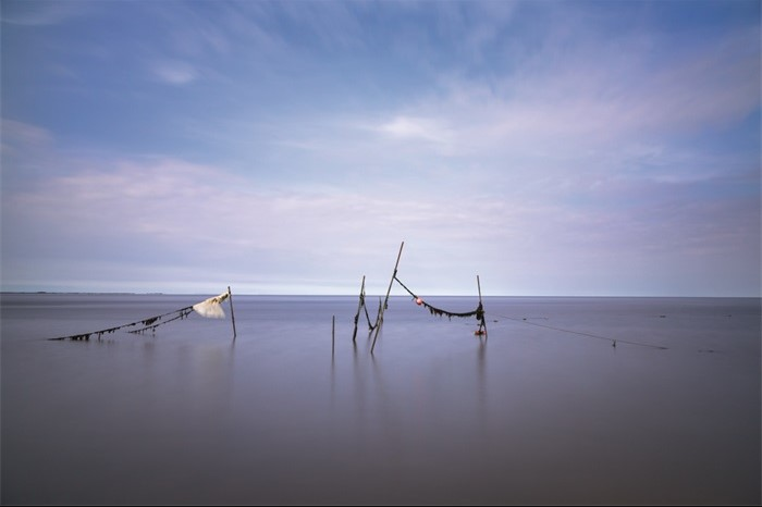 "Aluminium schilderij ""Serenity"" van MondiArt"