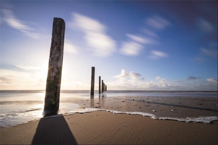 Aluminium schilderij Spiaggia van MondiArt