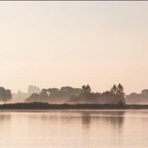 "Aluminium schilderij ""When morning wakes up…"" van MondiArt"