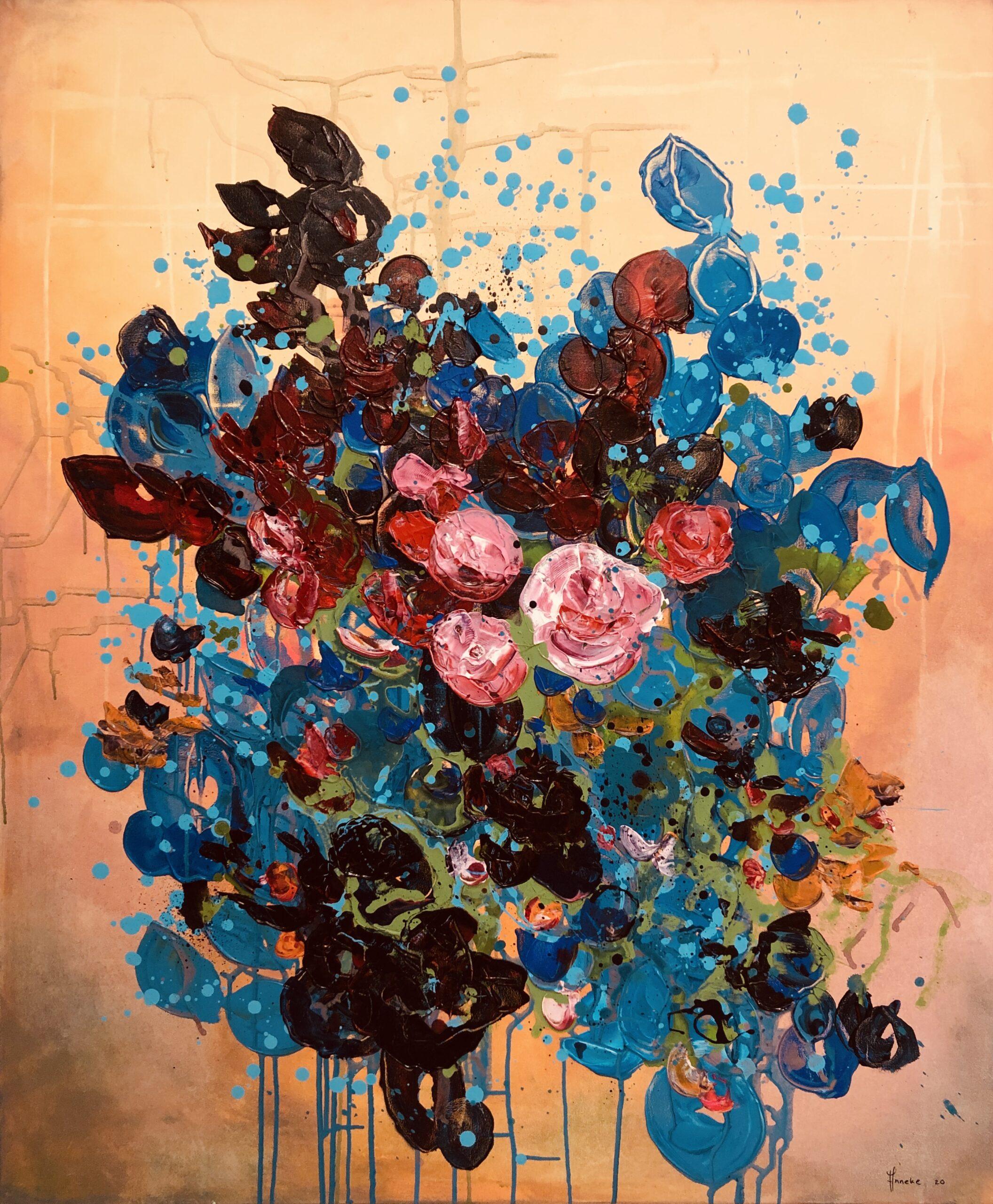 Schilderij Herfstliefde van Anneke Swanink