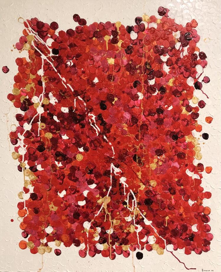 """Schilderij """"Noppen"""" van Anneke Swanink"""