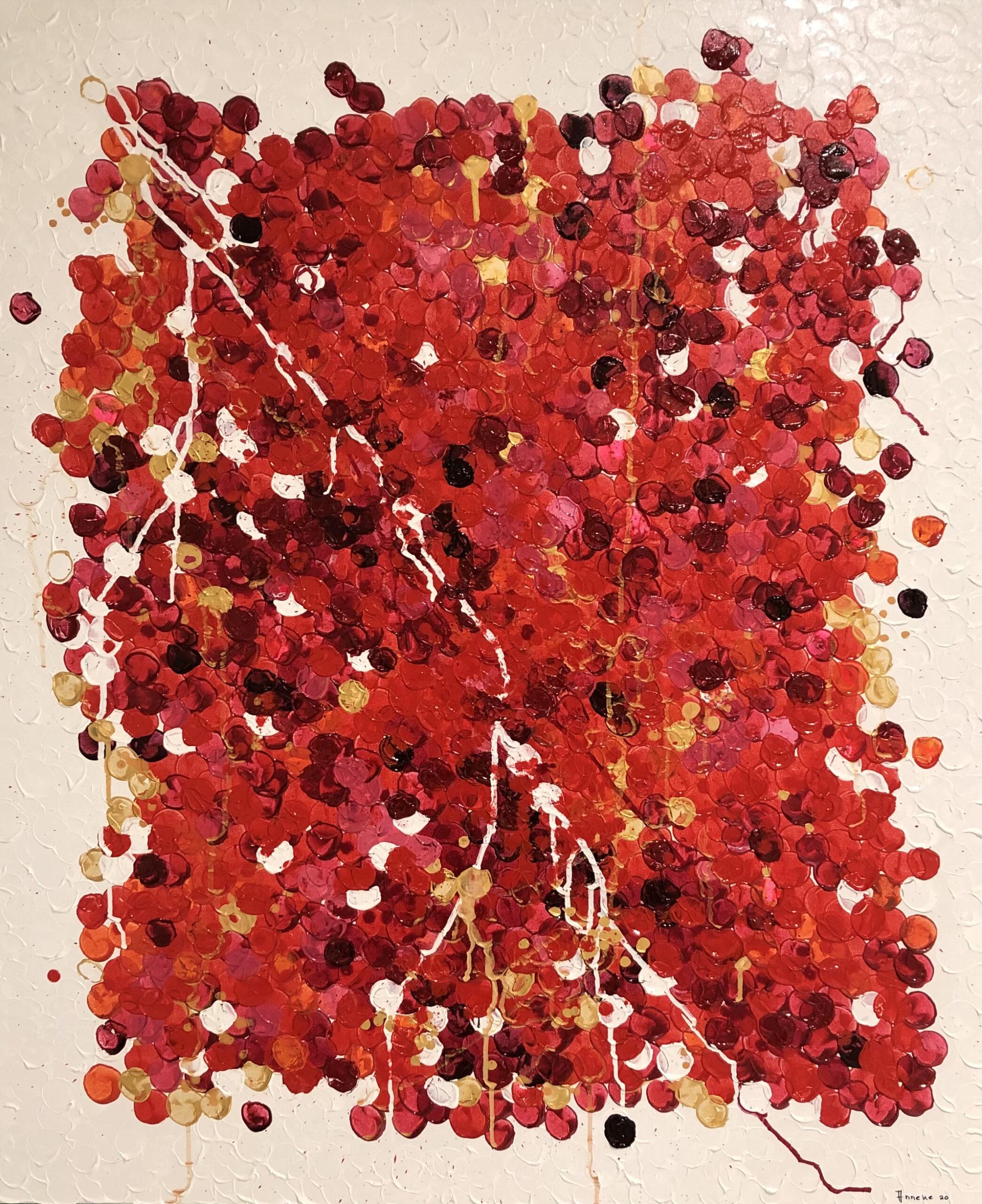 Schilderij Noppen van Anneke Swanink